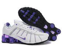 official photos f9df6 7cbb0 chaussures nike shox nz electro dorure femme (blanc pourpre) pas cher en  ligne.