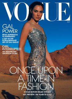 Vogue Magazine May Power with Gal Gadot Mad Love, The Americans, Nurse Jackie, Ray Donovan, It Crowd, Boardwalk Empire, Vogue Magazine Covers, Vogue Covers, Jane The Virgin