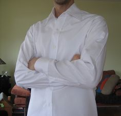 male pattern boldness: Men's Shirt Sew-Along 11 -- A new collar for Negroni!