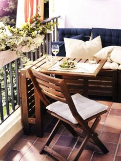 Condo Patio Garden Ideas small patio furniture ideas marble iron outdoor table small patio ideas Find This Pin And More On Garden My Balcony