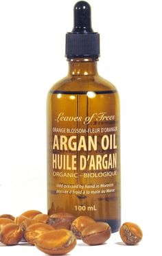 Argan Oil makes a perfect natural heat protectant for your hair - like this one from @leavesoftrees