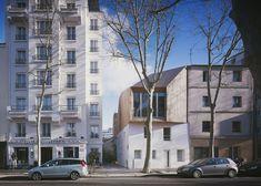 Wooden house extension in Paris by Nicolas Gaudard and Nicolas Hugoo