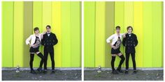 Couples Switch Outfits In Playful, Gender-Bending Photo Series By Hana Pesut pics) Formation Photo, Clothing Swap, Gender Swap, Couple Outfits, Contemporary Photography, Photo Series, Photography Projects, Photography Tips, Photo Projects
