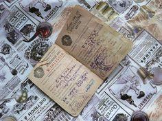 Vintage Soviet Union card Red Army Soviet by AllForHappyAndLoveV