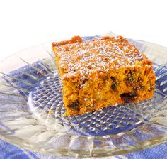 One Perfect Bite: Pumpkin Date Nut Squares. Pumpkin Recipes, Fall Recipes, Holiday Recipes, Whole Food Recipes, Dessert Recipes, Desserts, Coffee Dessert, Dessert Bars, Coffee Cake