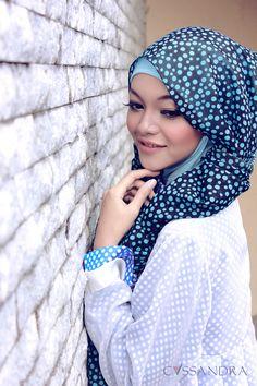 Pretty pretty ❤ hijab style