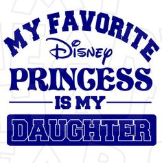 My favorite Disney princess is my daughter INSTANT DOWNLOAD digital clip art DIY for shirt :: My Heart Has Ears