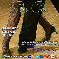 Aprende a Bailar #Salsa en el #2017 Invita un amigo al #SanoVicioDeBailar #Taller #Workshop #Baile #Dance Whatsapp 58 416 831 0380 Inscripciones abiertas ya en www.rumbacana.com