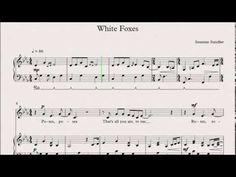 Susanne Sundfør - White Foxes (piano/voice sheet music)