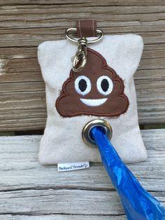 Dog Poop Bag Dispenser with Poop Emoji makes a unique gift Etsy . - Dog Poop Bag Dispenser with Poop Emoji makes a unique gift Etsy - Dog Clothes Diy, Durable Dog Toys, Dog Crafts, Dog Bandana, Diy Stuffed Animals, Dog Accessories, Dog Supplies, Dog Lover Gifts, Diy Dog Gifts