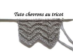 New Photographs fancy Knitting Stitches Suggestions Knitters are aware that any time you take on a project, you'd better expect to understand something new. Fall Knitting Patterns, Knitting Stiches, Knitting Videos, Lace Knitting, Knitting Designs, Pull Crochet, Knit Crochet, Chevrons Au Crochet, Stitch