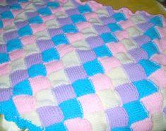 Örgü Bebek Battaniyesi Modelleri ve Yapılışı
