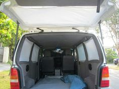idee eines moskitonetzes mit mangnetband verdunkelung im caddy maxi pinterest wohnwagen. Black Bedroom Furniture Sets. Home Design Ideas