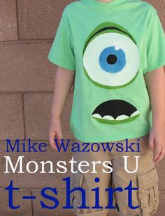 DIY Monsters University Inc. FUN! via BrassyApple.com