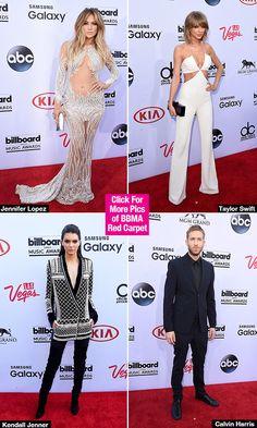 Billboard Music Awards 2015 Red Carpet: Taylor Swift, Jennifer Lopez &More