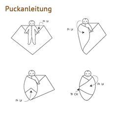 Ein #Pucktuch ist sehr nützlich bei #Schreikindern