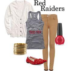Red Raiders at Texas Tech