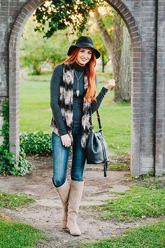 GiGi New York | Little J Style Fashion Blog | Jenn Black Bucket Bag