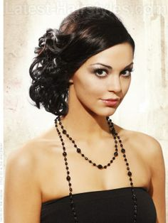 Prom Hairstyles for Medium Hair - Pictures and How To's   Latest-Hairstyles...