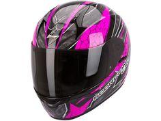 Scorpion Exo-410 Air Rad Negro / Rosa