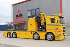Scania Rollback Tow Truck C/W Crane