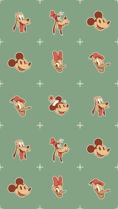 Fondo de pantalla Navideño Disney / Mickey y sus amigos / Disney Wallpaper