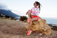 Top and shorts ADIDAS BY STELLA MCCARTNEY - Sneakers NIKE  | Kenza Zouiten