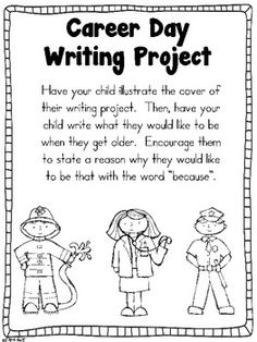 School counseling   What Do I Want to Be when I grow up   Cosa far     Teaching ActivitiesTeaching WritingTeaching IdeasKindergarten