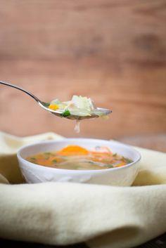 Frango do Campo: chicken and veggie soup