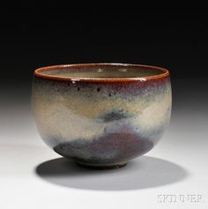 Edwin and Mary Scheier (American, 1910-2008, 1908-2007) Bowl | Sale Number 2737B, Lot Number 317 | Skinner Auctioneers