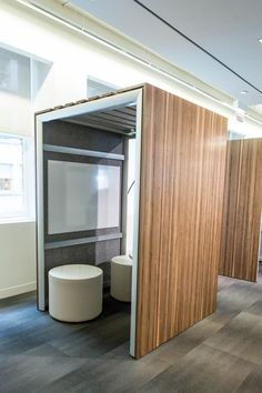 Creative Phone Booth Meeting Areas