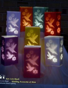 Classy Candle Bags, Inserts & Weights Wedding Party Lights - Humming Bird x 18