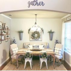 Love the gather sign