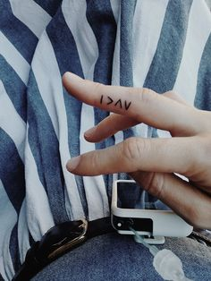I am greater than my highs and lows. #typeonediabetes #t1d #fingertattoo