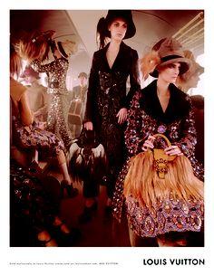 Louis Vuitton Fall/Winter 2012/2013 Campaign by Steven Meisel