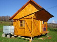 Slovenian honey house with 24 AZ beehives