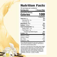 Mom Fuel Protein Powder NATURAL VANILLA