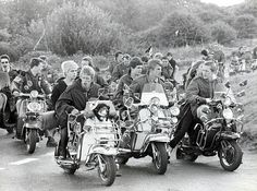 '60s scooter gang