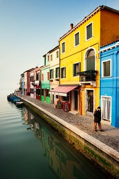 The colourful island of Burano, taken during our 2012 Venice Carnival Photo Tour.
