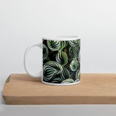 Latte Mugs, Coffee Mugs, The Last Drop, Monstera Deliciosa, Travel Cup, Coffee Drinkers, Pink Princess, Round Corner, Travel Size Products