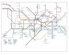 step free tube map