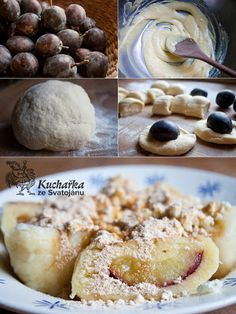 Kuchařka ze Svatojánu: ŠVESTKOVÉ KNEDLÍKY Mexican Food Recipes, Sweet Recipes, Czech Recipes, Sweet And Salty, Doughnut, Delicious Desserts, Good Food, Food And Drink, Cooking Recipes