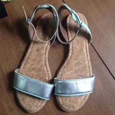 Lucky brand sandals, light green, size 9 Very cute, lightly used. Lucky Brand Shoes Sandals