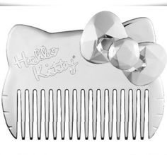 What it is:A metallic silver wide-tooth comb in the shape of Hello Kitty. What it does: This limited-edition comb is pretty, sleek, and perfect for combing tangled hair.What else you need to know:Hello Kitty is full of drama this holiday season with Hello Kitty Cake, Hello Kitty Items, Sephora, Hello Kitty Collection, Bath And Body, Your Hair, Fragrance, Tooth, Things To Sell