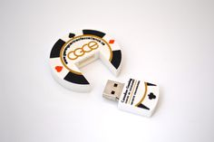 All bets are off with this Poker Chip shaped USB Drive