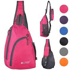 Outrip Sling Shoulder Backpacks Bags Crossbody Rope Trian…