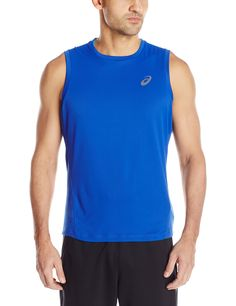 212f65038c240 ASICS Men s Lite-Show Sleeveless Top