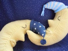 goodnight moon toy knitting