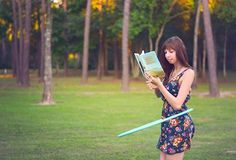 Reading and Hooping with Valerie Parker