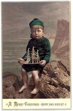 Vintage Young Sailor